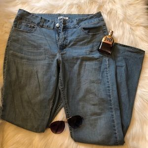 Riders Low Rise Boot Cut Jeans